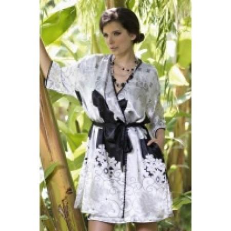 Шелковый Домашний халат Mia-Mia 9063